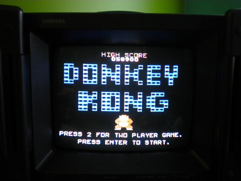 Donkey Kong 58,900 points
