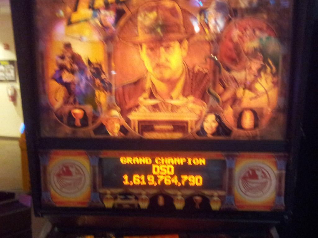 Indiana Jones: Pinball Adventure 1,619,764,790 points