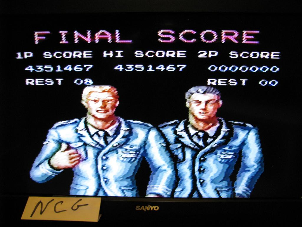 Contra III: The Alien Wars [Normal] 4,351,467 points