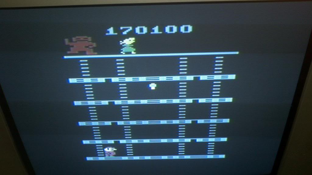 Donkey Kong 170,100 points