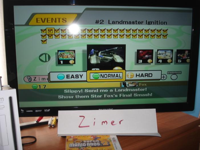 Super Smash Bros. Brawl: Event Match 02: Landmaster Ignition [Normal] 17 points