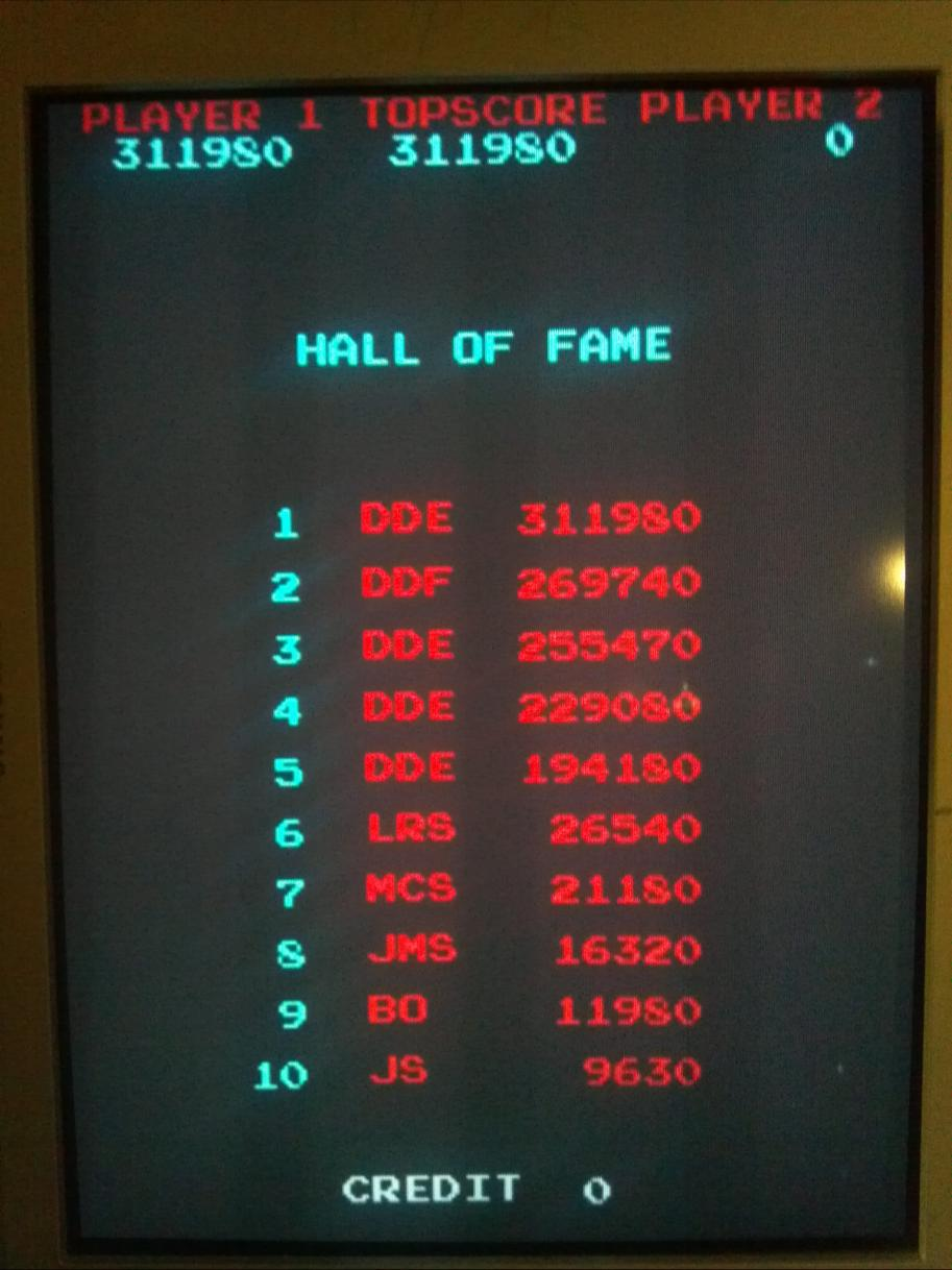 ig88: Eyes (Arcade Emulated / M.A.M.E.) 311,980 points on 2014-02-06 20:01:42