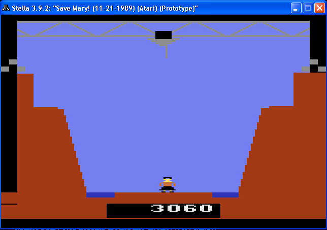 arenafoot: Save Mary [Standard] (Atari 2600 Emulated) 3,060 points on 2014-02-06 22:51:48