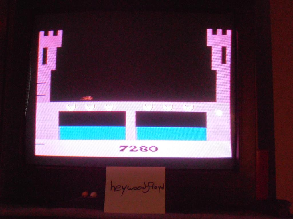 heywoodfloyd: Dragonfire (Atari 2600 Novice/B) 7,280 points on 2013-09-19 18:39:03