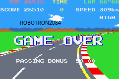 Namco Museum: Pole Position 28,510 points