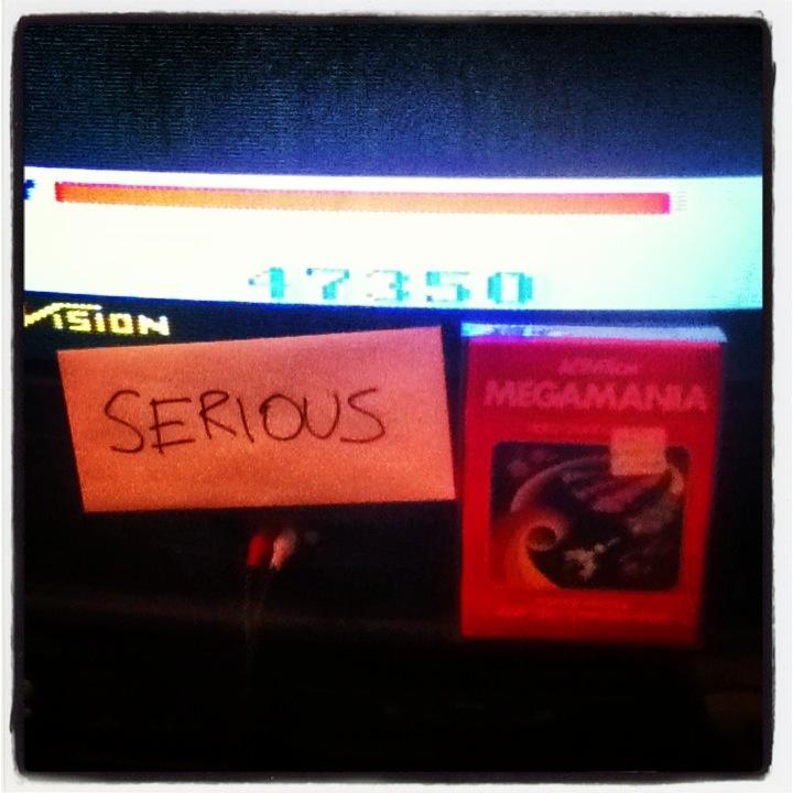 Serious: Megamania (Atari 2600 Expert/A) 47,350 points on 2014-02-08 17:44:24