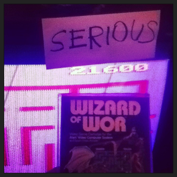 Wizard of Wor 21,600 points