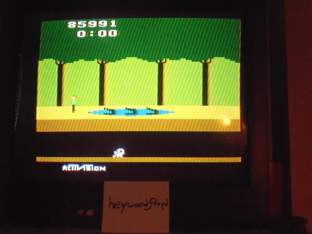 heywoodfloyd: Pitfall! (Atari 2600 Novice/B) 85,991 points on 2013-09-19 17:41:05