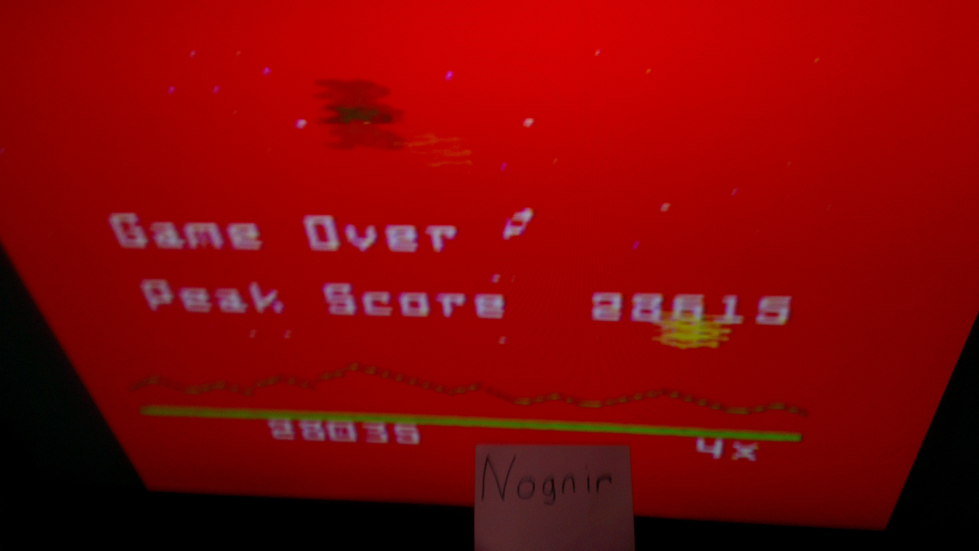 Astrosmash [Final Score] 28,035 points