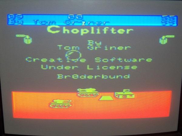 Choplifter 55 points