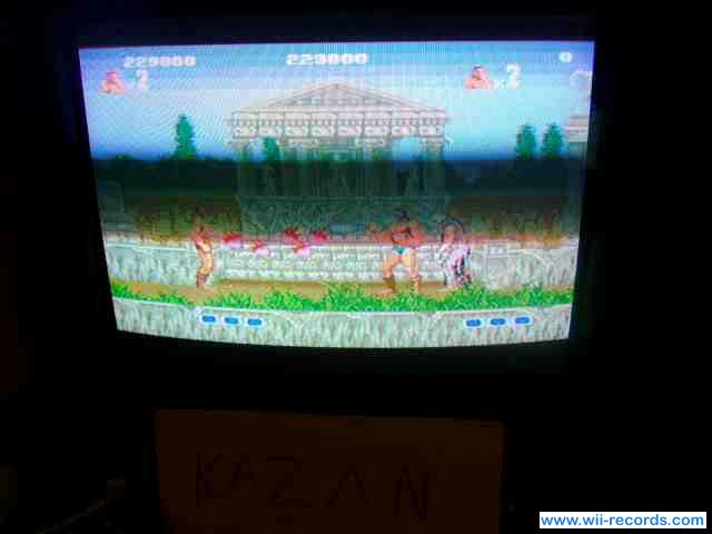 Altered Beast 229,000 points