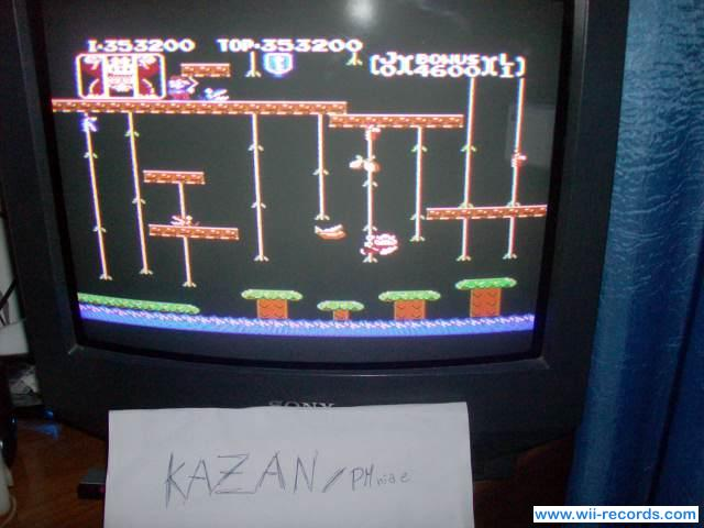 Donkey Kong Jr 353,200 points