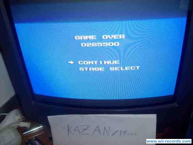 Mega Man 265,500 points