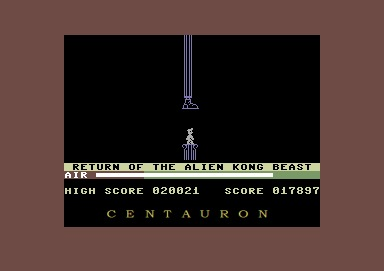 Centauron: Manic Miner (Commodore 64 Emulated) 17,897 points on 2014-02-13 19:14:20