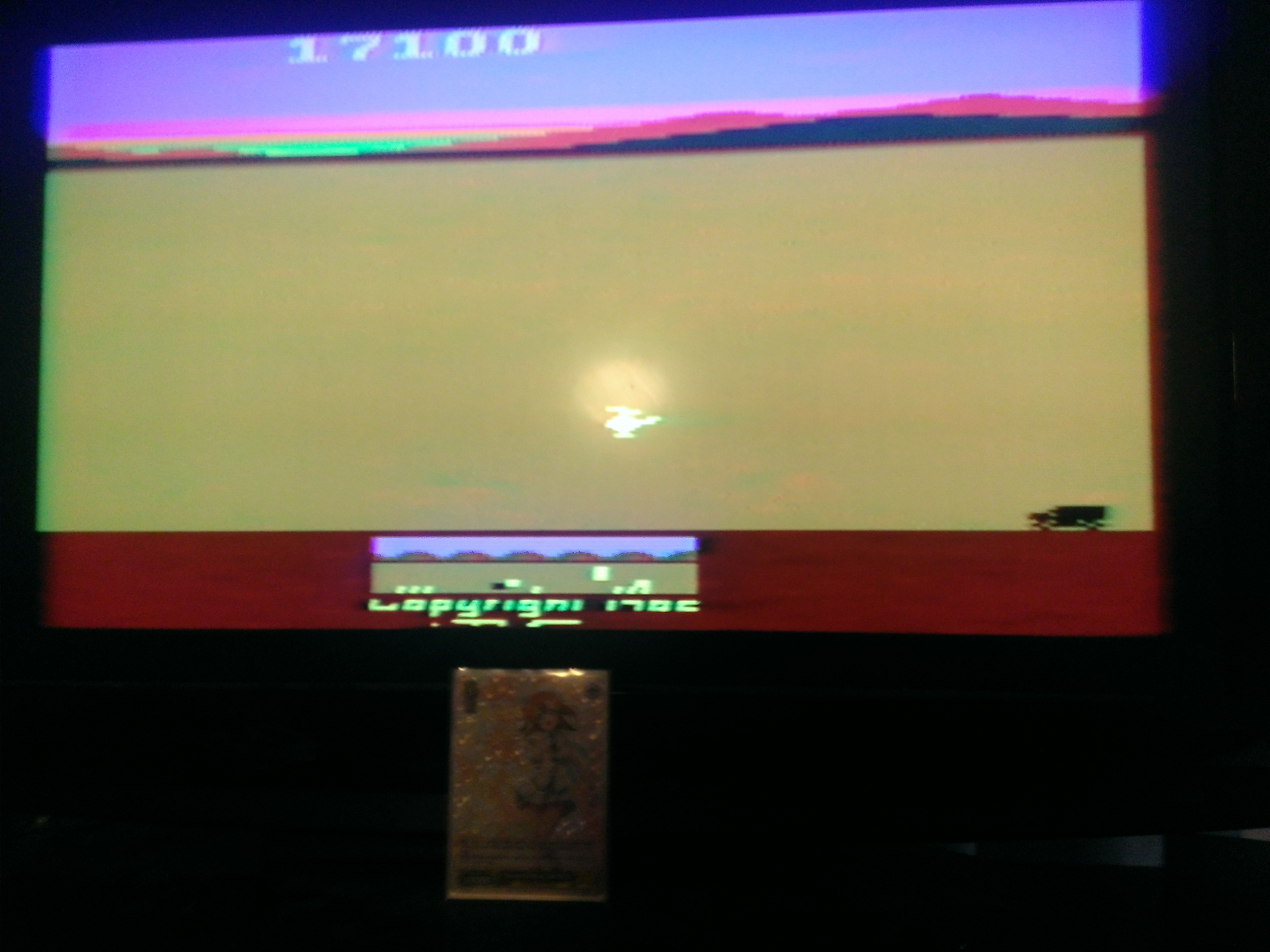 ChrisSampson: Chopper Command (Atari 2600 Expert/A) 17,100 points on 2014-02-14 01:26:04
