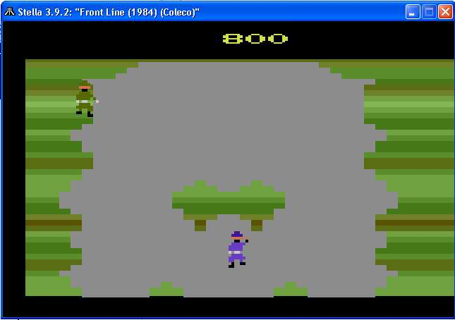 arenafoot: Front Line (Atari 2600 Emulated Novice/B Mode) 800 points on 2014-02-15 11:09:59