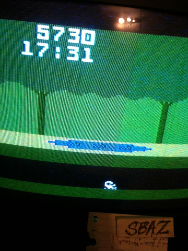 Pitfall 5,730 points