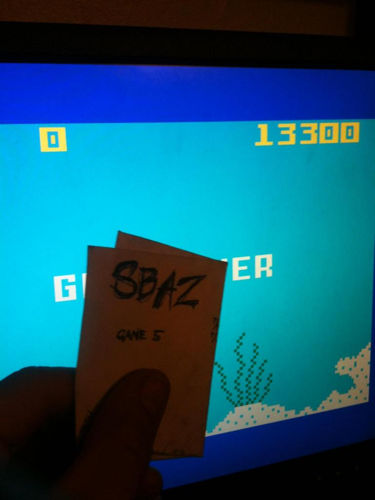 Shark! Shark!: Normal Mode 13,300 points