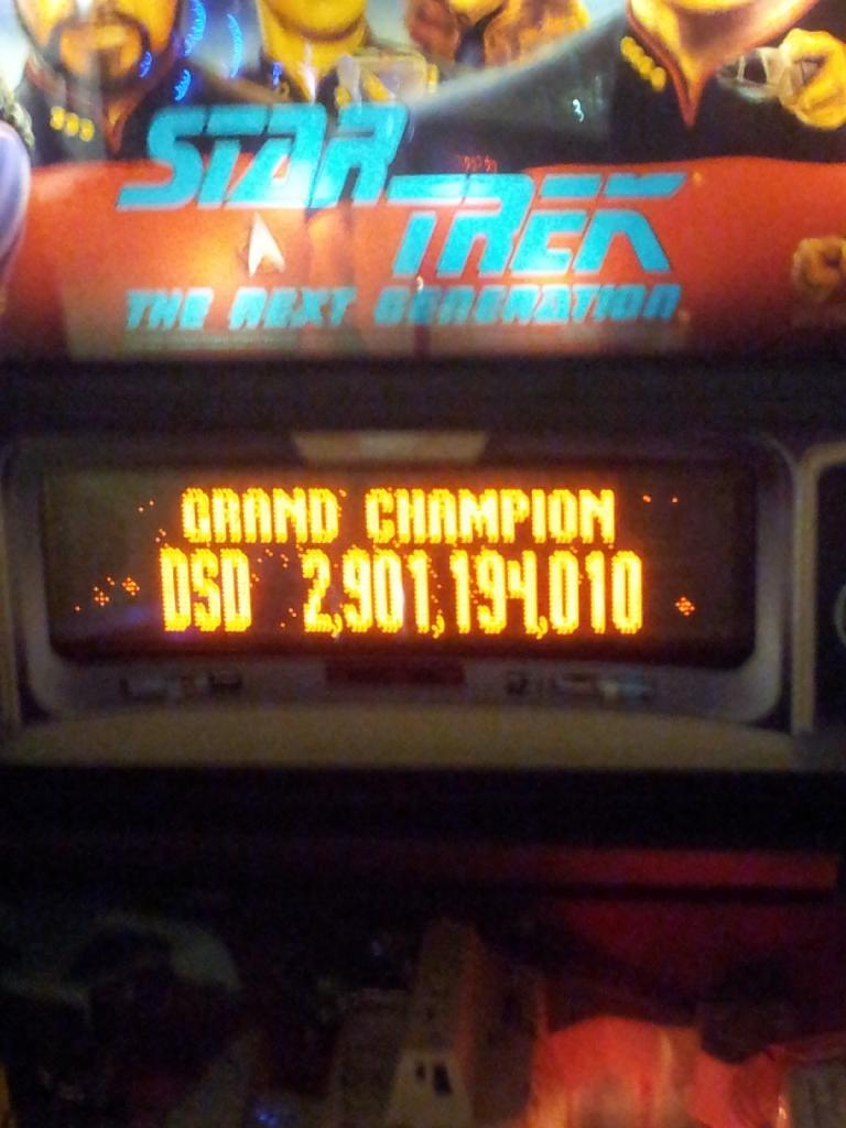 Star Trek: The Next Generation 2,901,194,010 points
