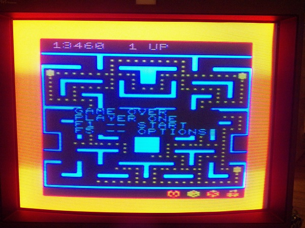 Ms. Pac-Man 13,460 points