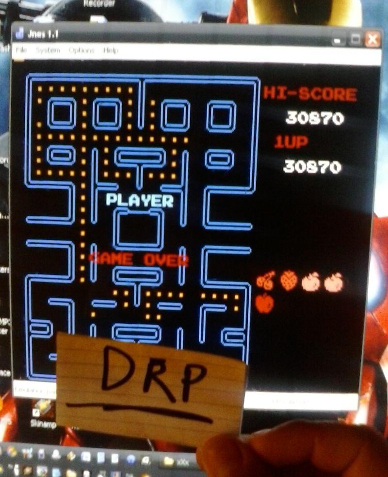 Pac-Man 30,870 points