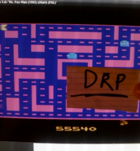 Ms. Pac-Man 55,540 points
