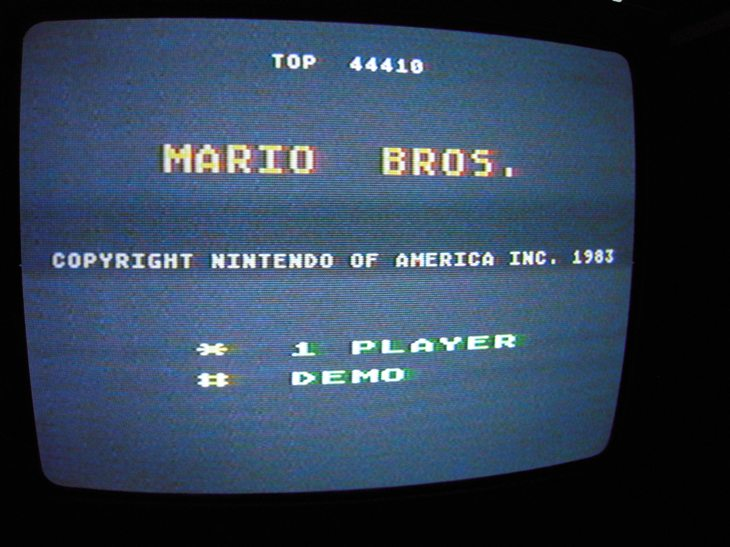 Mario Bros 44,410 points