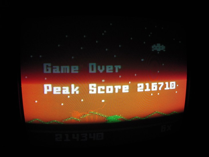 Astrosmash [Peak Score] 216,710 points