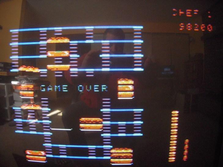 BurgerTime 98,200 points