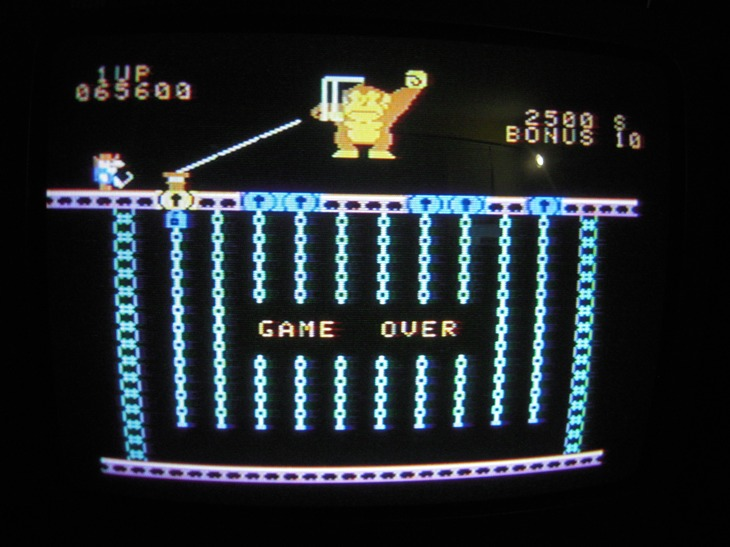 Donkey Kong Jr 65,600 points