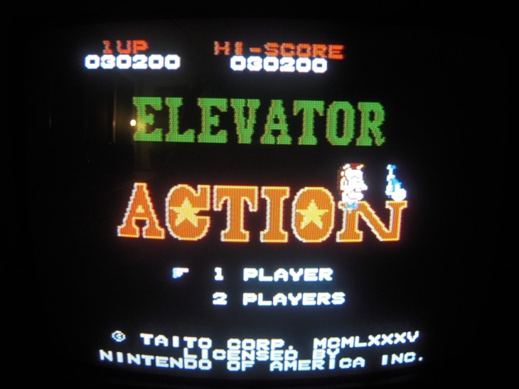 Elevator Action 30,200 points