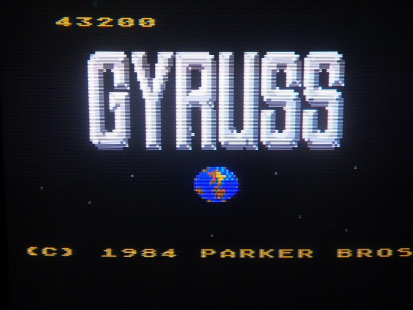 Gyruss 43,200 points