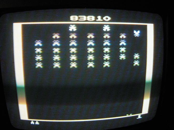 Galaxian 83,810 points