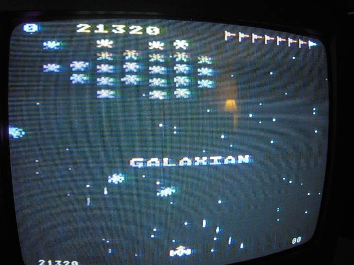 Galaxian: Skill Level 1 21,320 points
