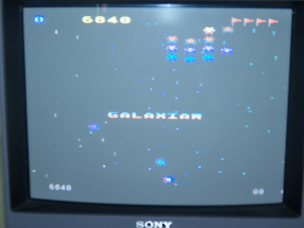 Galaxian 6,840 points