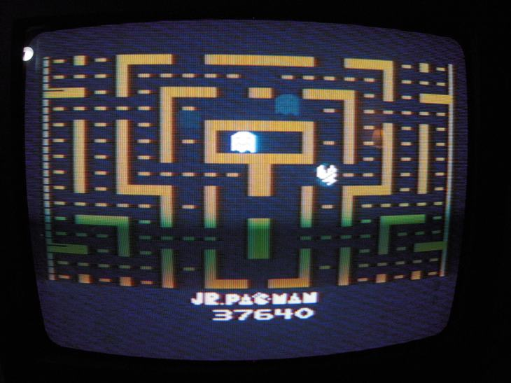 Jr. Pac-Man 37,640 points