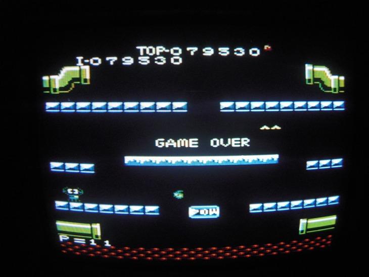 Mario Bros. [Standard] 79,530 points