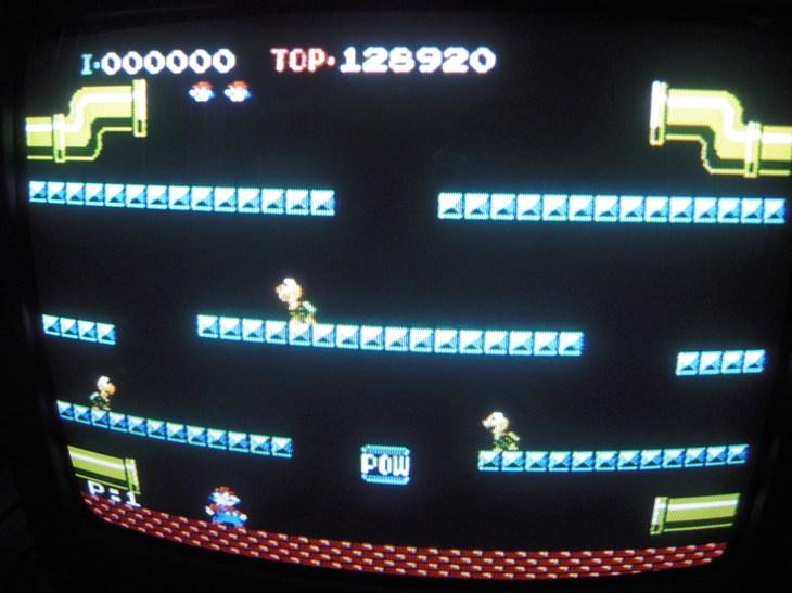 Mario Bros 128,920 points
