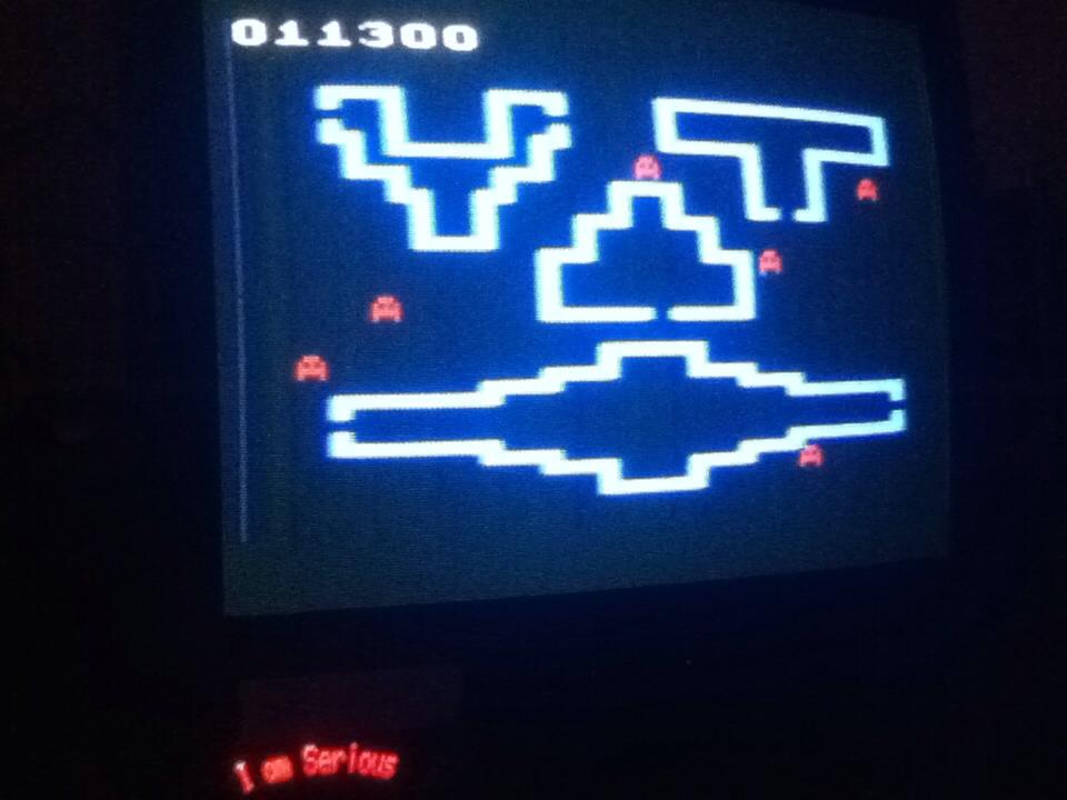 Serious: Venture (Atari 2600 Novice/B) 11,300 points on 2013-08-23 18:16:28
