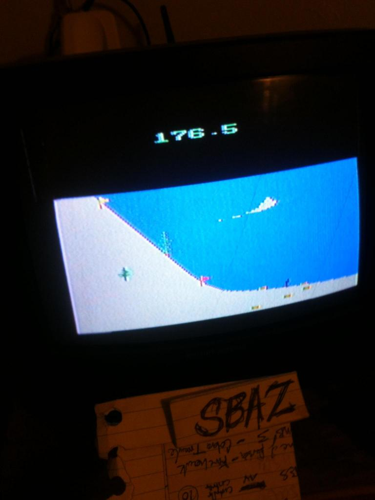 Winter Games: Ski Jump 177 points