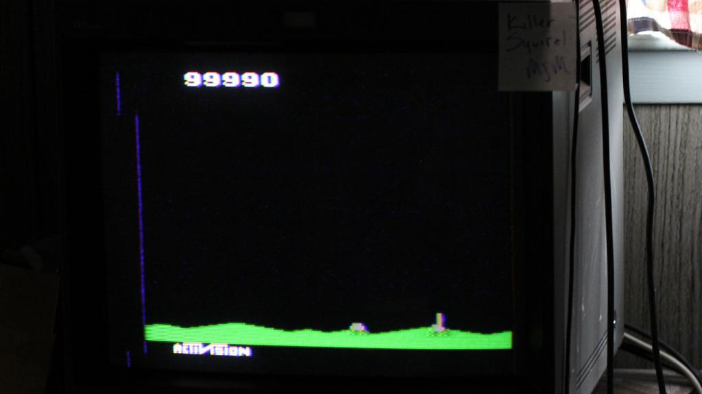 Laser Blast 99,990 points