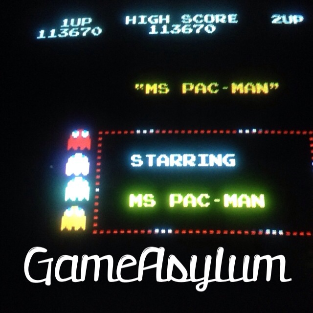 GameAsylum: Ms. Pac-Man (Arcade) 113,670 points on 2014-02-27 21:24:30