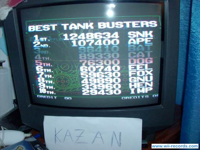 Metal Slug 3 1,248,634 points