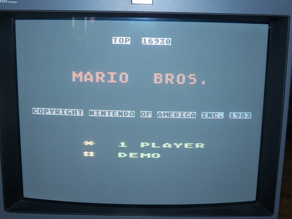Mario Bros 16,930 points