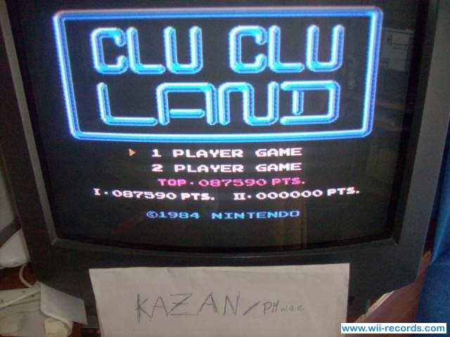 Clu Clu Land 87,590 points