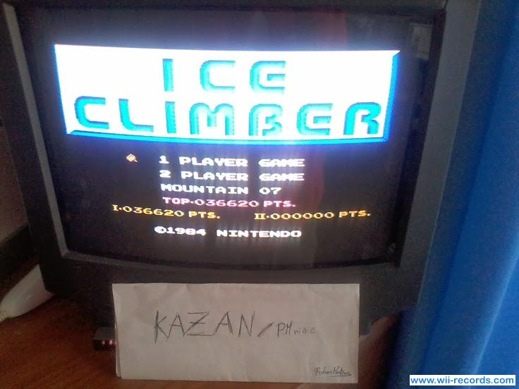 Ice Climber 36,620 points