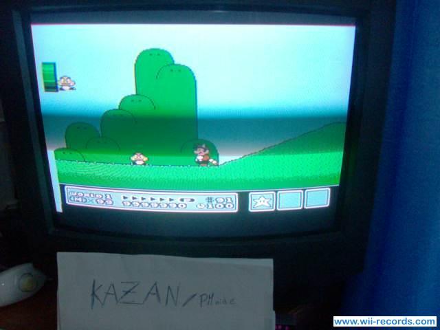 Super Mario Bros. 3 9,999,990 points
