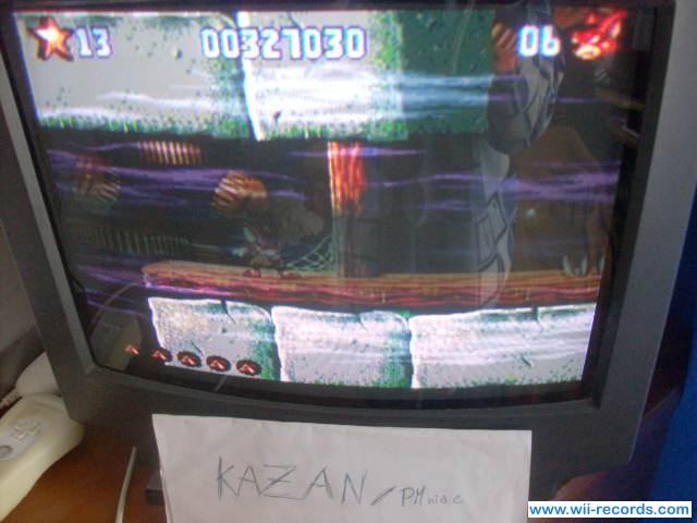 PMniac: Aero the Acrobat 2 (Wii Virtual Console: SNES) 327,030 points on 2014-02-28 10:08:31