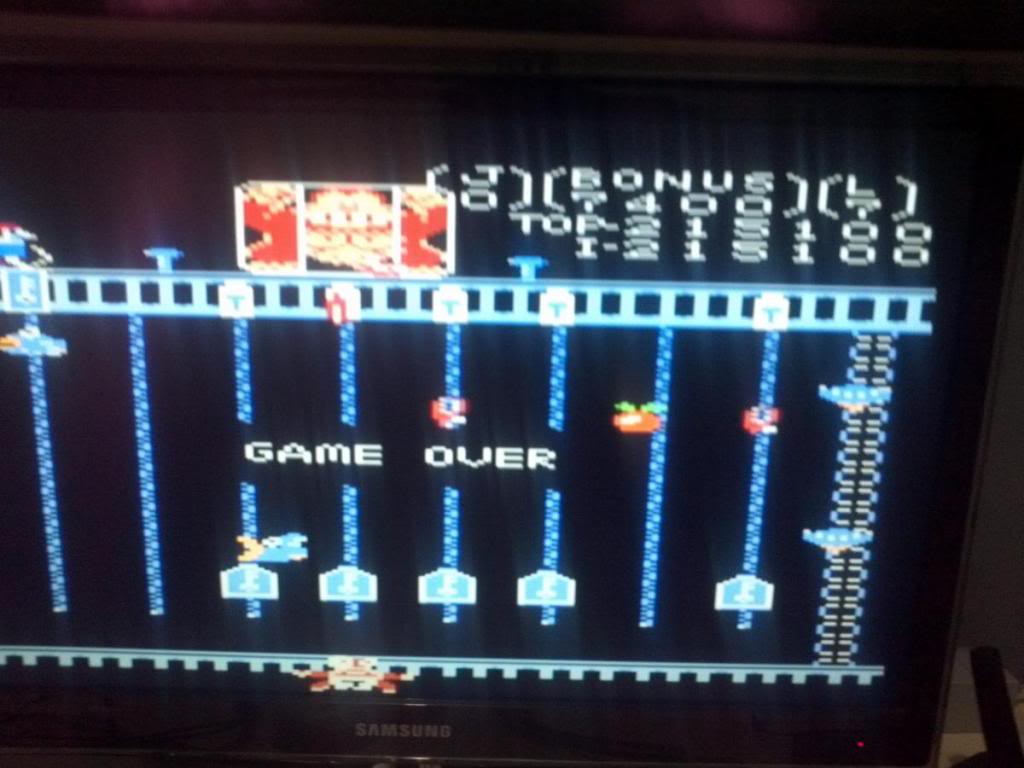 Donkey Kong Jr: Standard 215,100 points