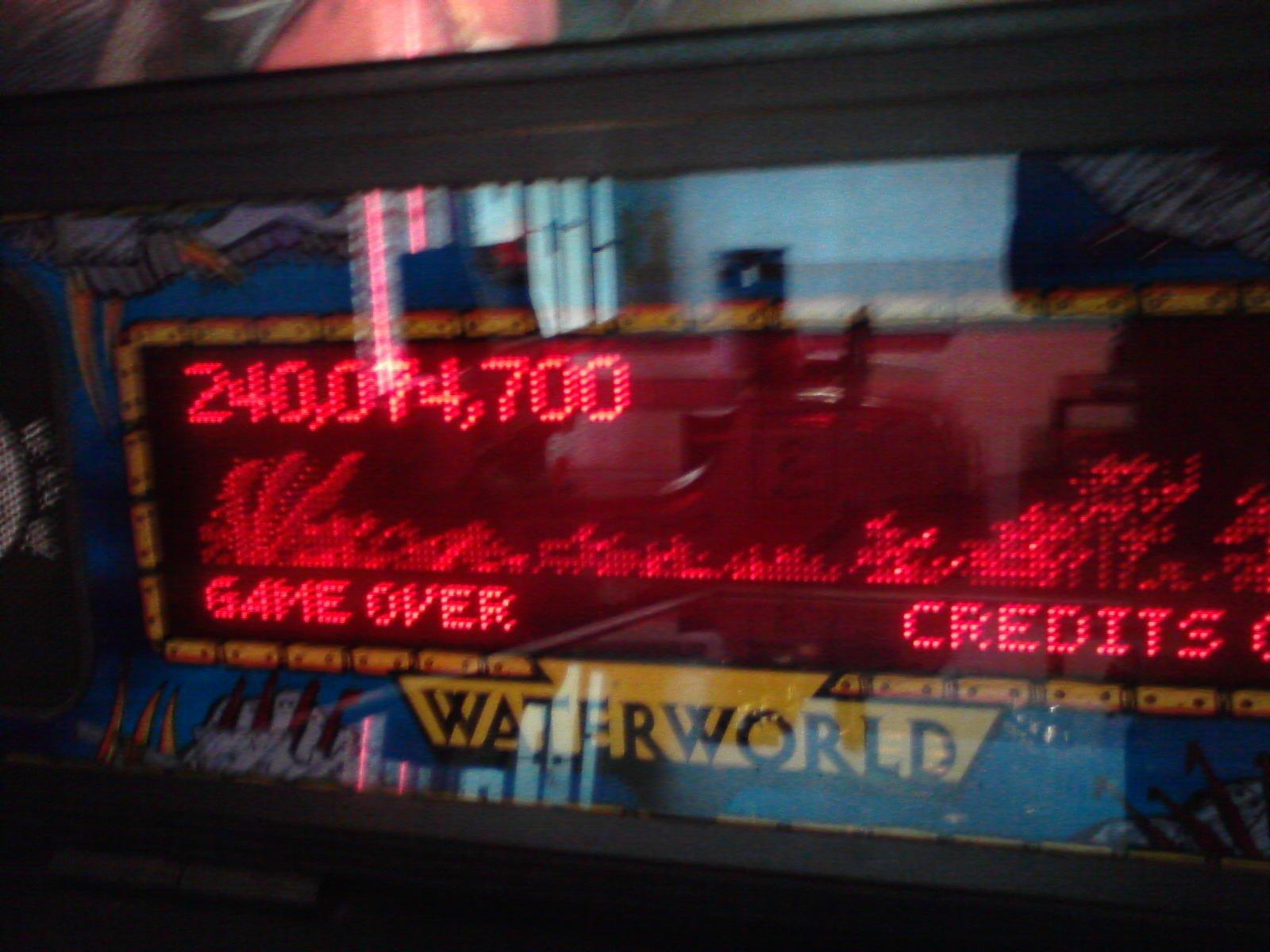 Samhain2099: Waterworld (Pinball: 3 Balls) 240,074,700 points on 2014-03-01 20:06:44